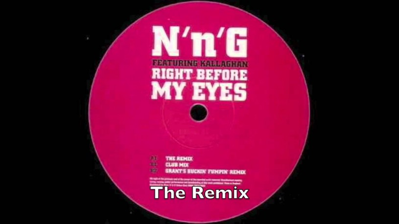 N'n'G feat. Kallaghan - Right Before My Eyes