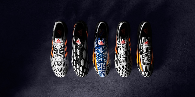 ADIDAS' FIFA WORLD CUP™ BOOT COLLECTION